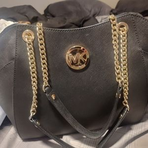 Black MK handbag